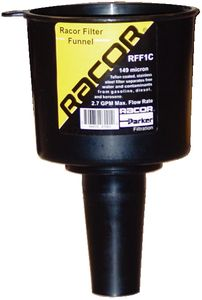 Racor fuel filter funnel