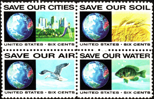 US stamp environment