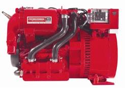westerbeke 5 kw low co generator set