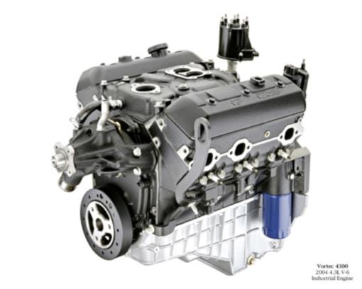 GM Vortec 4300 marine engine