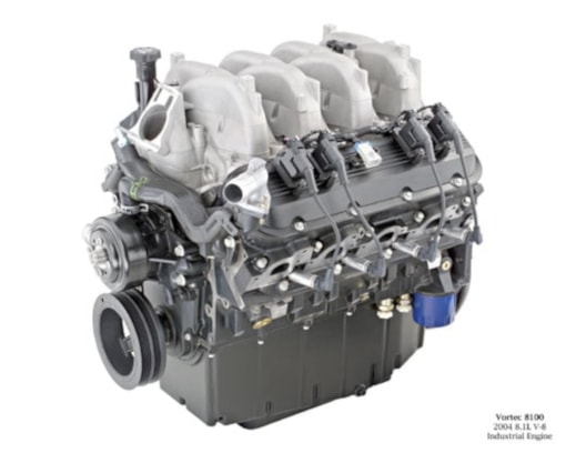 General motors marine engines vortec 8100 marine engine for General motors marine engines