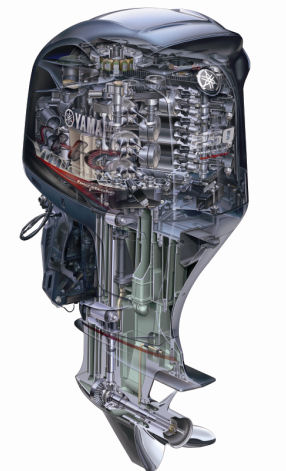yamaha 250 hp v6