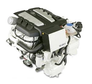 VW's 265 horsepower InLine 6 cylinder marine diesel engine
