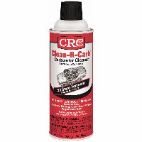 CRC carburetor cleaner