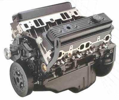 General Motors marine engine