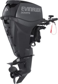 Evinrude's E30MRL multi fuel outboard motor