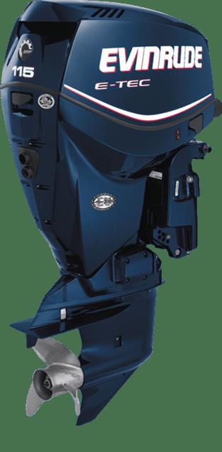 Evinrude 115 horsepower ETEC outboard motor