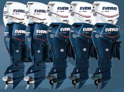 Evinrude E-TEC family of two stroke outboards