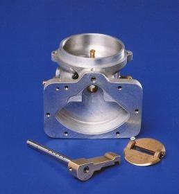 Cutaway view of the Fish carburetor.