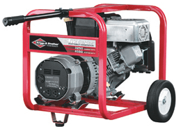 Briggs and Stratton's portable electrical generator