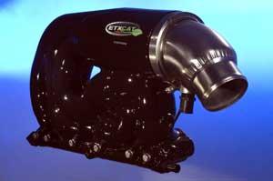 Indmar's ETX/CAT is standard on its 5.7L V-8s.