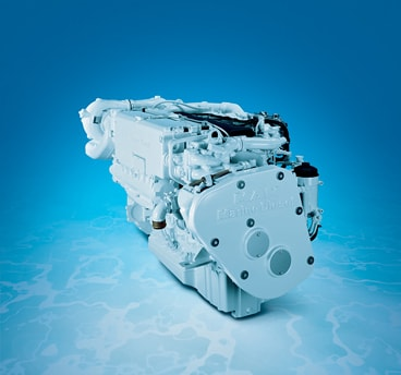 MAN R5-550 Horsepower common rail I-6 marine diesel engine