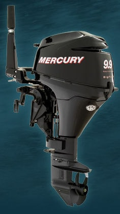 Mercury Marine's 9.9 horsepower four stroke Big Foot sail motor.