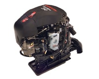 Mercury Marine 250 OptiMax direct injected outboard motor on a jet pump
