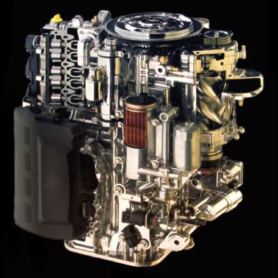Mercury Marine Verado supercharged outboard motor