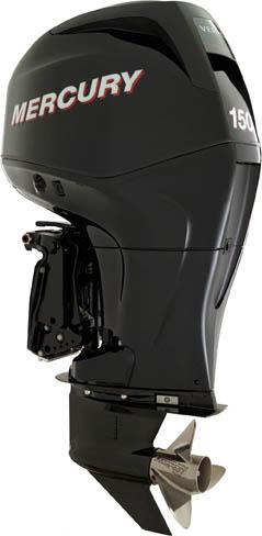 Mercury Verado 150 horsepower four stroke outboard motor