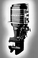 the world's first 100 horsepower outboard motor