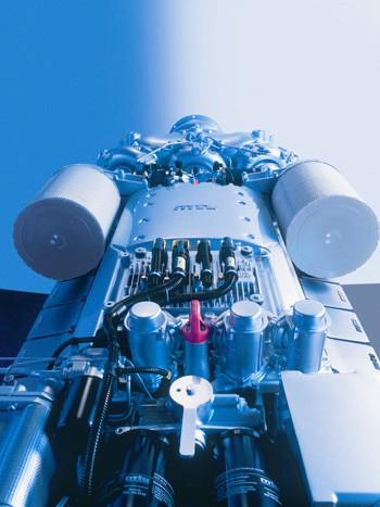 MTU V-16 marine diesel
