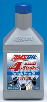 Amsoil 10W40 marine engine oil