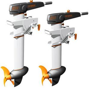 Torqeedo outboard motor replacement for gasoline fueled outboards