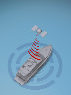 volvo penta dynamic positioning system graphic