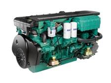 Volvo Penta's D6 marine diesel