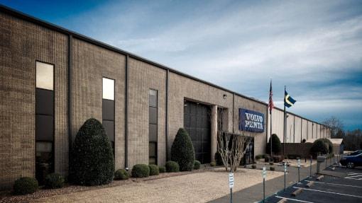 volvo pentas lexington, Tennessee factory