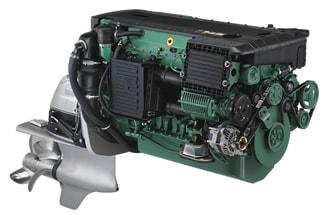 Volvo Penta D6-350 horsepower marine diesel