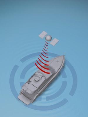 volvo penta dynamic positioning system graphic