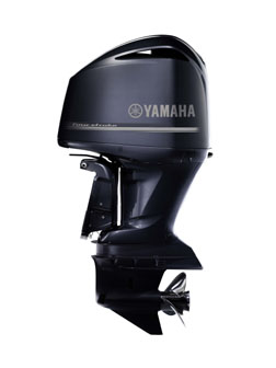 Yamaha Marine's F350:World's first 350 horsepower outboard.