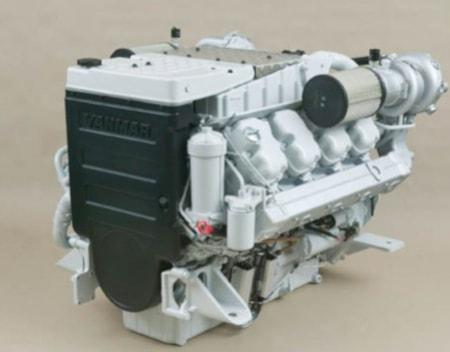 Yanmar 900 hp marine diesel