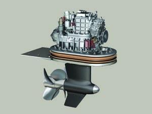 Yanmar Marine Pod drive