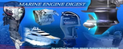 marine engine digest logo