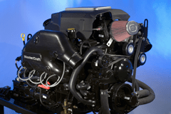 Indmar's LY6 Small Block V8 Marine Engine Performs Like a Big Block.