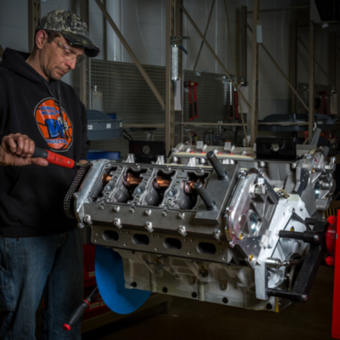 building a Mercury Racing engine