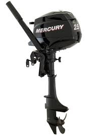 Mercury 2.5 hp small outboard motor. Is less hp better for cruisers?
