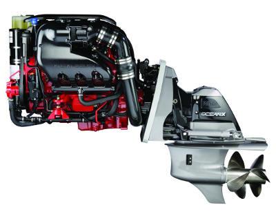 volvo penta's VVT 380 hp marine engine