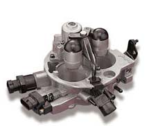 Holley makes TBI throttle body injection bolt ons for marine engines