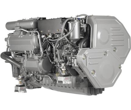 studio photo of Yanmar-6LY3-Marine-Diesel