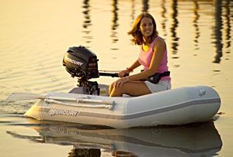 mercury inflatable boat